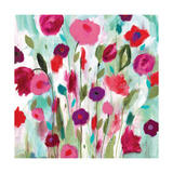 Happy Garden Premium Giclee Print by Carrie Schmitt