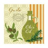Modern Olive Oil Premium Giclee Print by Lola Bryant