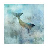 Ocean Whale 3 Premium Giclee Print by Ken Roko