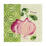 Fresh Linen Onion Premium Giclee Print by Lola Bryant