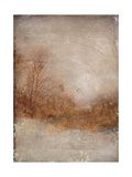 Rustic Gold Premium Giclee Print by Matina Theodosiou