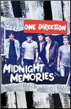 One Direction Midnight Memories Mounted Print