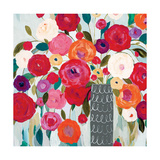 Floral Romance Premium Giclee Print by Carrie Schmitt