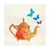 Sunshine Teapot Premium Giclee Print by Meili Van Andel