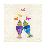 Sunshine Shakers Premium Giclee Print by Meili Van Andel