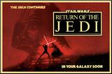 Star Wars - Return of the Jedi circles Mounted Print