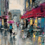 Paris Modern 1 Premium Giclee Print by Brent Heighton