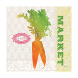 Global Garden Carrots Premium Giclee Print by Bella Dos Santos