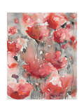 Infinity Blooms Premium Giclee Print by Karin Johannesson