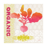 Global Garden Radish Premium Giclee Print by Bella Dos Santos