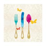 Sunshine Cutlery Premium Giclee Print by Meili Van Andel