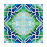 Grand Tile 4 Premium Giclee Print by Edith Lentz