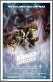 Star Wars: The Empire Strikes Back - The Saga Continues Movie Poster Mounted Print