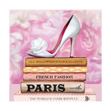 Fashionable Reading Premium Giclee Print by  Pink Pink