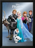 Frozen - Group Foil Poster Posters
