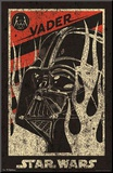 Star Wars Darth Vader Propaganda Movie Poster Mounted Print