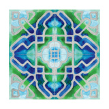Grand Tile 2 Premium Giclee Print by Edith Lentz