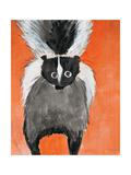 Playful Skunk Premium Giclee Print by Madelaine Morris
