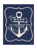 Hope Anchors the Soul Premium Giclee Print by  Z Studio