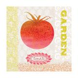 Global Garden Tomato Premium Giclee Print by Bella Dos Santos