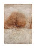 Rustic Gold Oak Premium Giclee Print by Matina Theodosiou