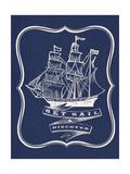 Set Sail Wydruk giclee premium
