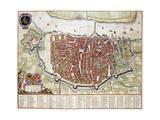 Antverpia  Map of Antwerp