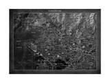 Vancouver Map Stretched Canvas Print by  GI ArtLab