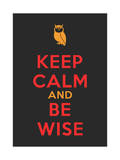 Keep Calm Poster Prints by  MishaAbesadze