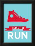 I Like to Run 1 Posters by  NaxArt