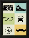 Hipster Mix Poster Prints by  NaxArt