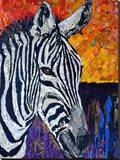 Seeing Stripes Retouched Stretched Canvas Print