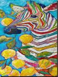 Lavender Lemonade Stretched Canvas Print