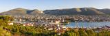 Elevated View over Stari Grad (Old Town), Trogir, Dalmatia, Croatia Photographic Print by Doug Pearson