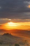 Italy, Tuscany, Siena District, Orcia Valley, Podere Belvedere Near San Quirico D'Orcia. Photographic Print by Francesco Iacobelli