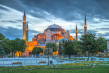 Turkey, Istanbul, Sultanahmet, Hagia Sophia (Or Ayasofya), Greek Orthodox Basilica Photographic Print by Alan Copson
