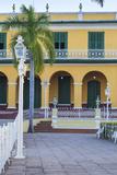 Cuba, Trinidad, Plaza Mayor, Brunet Palace Now the Museum Romantico Photographic Print by Jane Sweeney