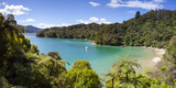 Picturesque Bay in Idyllic Kenepuru Sound, Marlborough Sounds, South Island, New Zealand Photographic Print by Doug Pearson