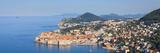Elevated View over Stari Grad (Old Town) and Coastline, Dubrovnik, Dalmatia, Croatia Photographic Print by Doug Pearson