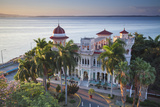 Cuba, Cienfuegos, Punta Gorda, Palacio De Valle - Now a Restaurant , Museum and Bar Photographic Print by Jane Sweeney