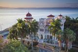 Cuba, Cienfuegos, Punta Gorda, Palacio De Valle- Now a Restaurant , Museum and Bar Photographic Print by Jane Sweeney