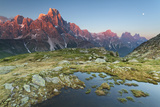 Italy, Dolomites, Trentino Alto Adige, Pale Di San Martino Mountains Photographic Print by Alfonso Morabito