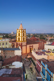 Cuba, Camaguey, Camaguey Province, City Looking Towards Iglesia De Nuestra Señora De La Soledad Photographic Print by Jane Sweeney