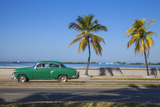 Cuba, Cienfuegos, the Malecon Linking the City Center to Punta Gorda Fotografisk tryk af Jane Sweeney
