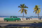 Cuba, Cienfuegos, the Malecon Linking the City Center to Punta Gorda Fotografie-Druck von Jane Sweeney