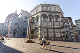 Italy, Italia. Tuscany, Toscana. Firenze District. Florence, Firenze. Piazza Duomo Photographic Print by Francesco Iacobelli
