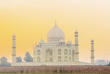 India, Uttar Pradesh, Agra, Taj Mahal in Golden Dawn Light Photographic Print by Alex Robinson
