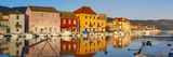 Stari Grad (Old Town) Refelcted in Harbour, Stari Grad, Dalmatia, Croatia Photographic Print by Doug Pearson