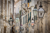 Picturesque Street in the Stari Grad (Old Town), Dubrovnik, Dalmatia, Croatia Photographic Print by Doug Pearson