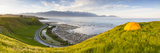 Elevated View over Picturesque Kaikoura Peninsula Illuminated Photographic PrintDoug Pearson